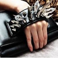 новый продукт! 50 шт./лот, 25 мм сплава screwback шипы шпильки с кожей сумка браслеты одежда ожерелье, бесплатная доставка