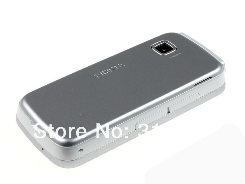 "Refurbished smartphone Nokia 5230 GPS 3G 3.2"" Bluetooth JAVA 2MP Unlocked Mobile Phone white 3"