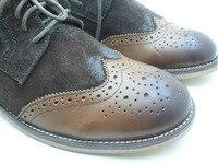 протрите цвет ретро стиль свободного покроя обувь кожа обувь 100% хвала