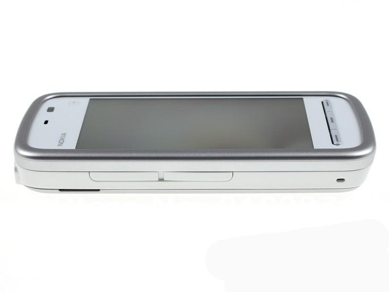 "Refurbished smartphone Nokia 5230 GPS 3G 3.2"" Bluetooth JAVA 2MP Unlocked Mobile Phone white 4"