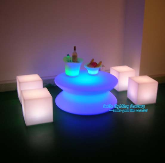 Creative outdoor or indoor using party led decor lights square creative outdoor or indoor using party led decor lights square table waterproof chair rechargeable floor lamp mozeypictures Image collections