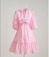 s013 повар мини платье милый, весна лето рабочий свободного покроя принцесса дизайн леди женское платья