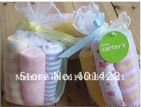 оптовая продажа бесплатная доставка 8 шт. / комплект картер полотенца / детские нагрудники / infantfeeding полотенце санта кормления полотенца