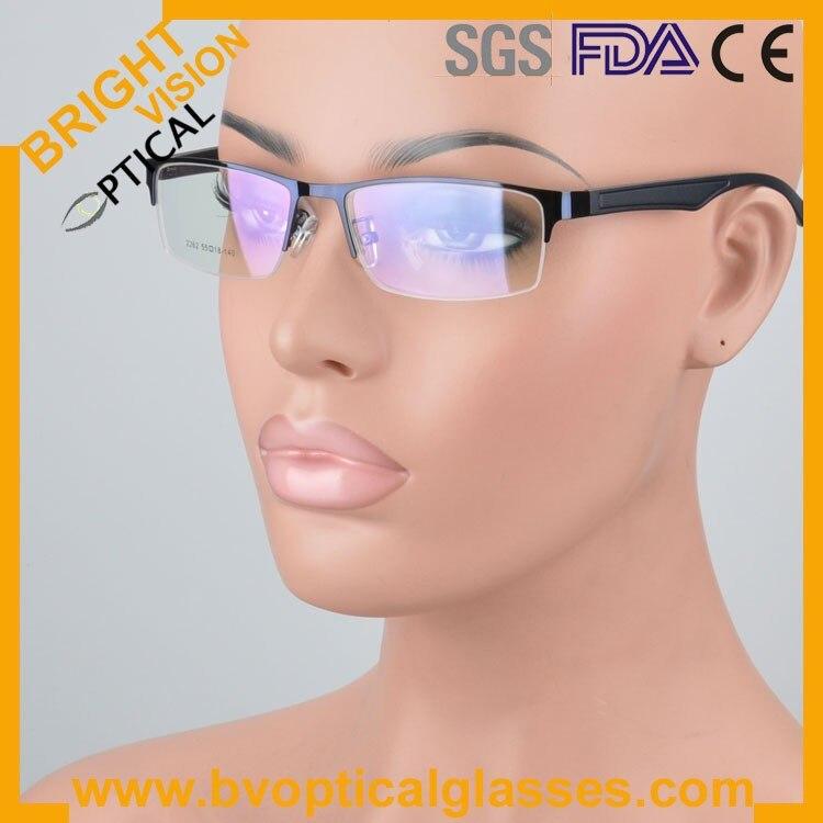 New model half rim metal optical frames glasses2262lan