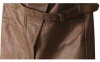 женщины новинка Seal обвинение синтетическая кожа юбка упаковка юбки для дам хl-размера юбка / платье пай-74