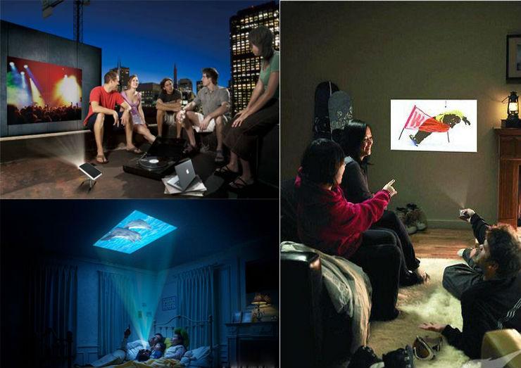 Q6 projector using