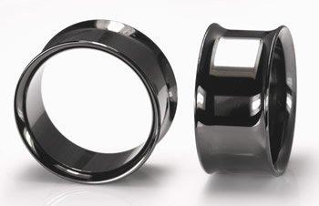 значит 7 размер черный цвет двойной вспышки Beru тоннель ювелирные изделия тела 35 шт./лот