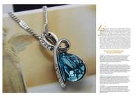 10 ювелирные изделия таможенное оформление многоцветный выбран капли воды кристалл ожерелье