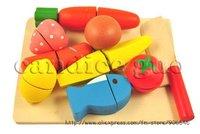 кэндис го! новое поступление играть дома деревянные игрушки красочные имитация растительное фрукты и овощи игры детские игрушки