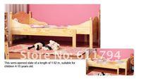 мебель для спальни / детская мебель / детская кровать выдвижной сплошной сосновый бор