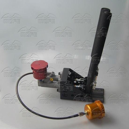 Oil Tank Reservoir Dual Double Twin 0.75 inch Master Cylinders Lever Lockable Vertical Drift Rally Handbrake Hydraulic DSC_0250