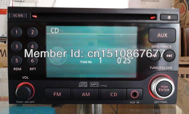 запись аудио cd для nissan