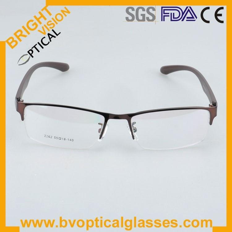 New model half rim metal optical frames glasses2262ka-2