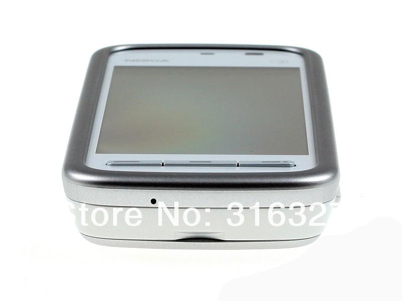 "Refurbished smartphone Nokia 5230 GPS 3G 3.2"" Bluetooth JAVA 2MP Unlocked Mobile Phone white 5"