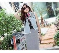 отражающий жилет леди деним куртки для женщины пиджаки маштаб XJ-l468821