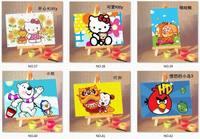 бесплатная доставка 1 шт. мини-поделки краска по Norm полный краски на хозяев подарки для детей нет.28