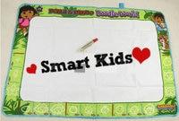 бесплатная доставка! 6 шт./лот детский рисунок коврик для рисования aquadoodle каракули дора и сан-диего мира каракули коврик 60 * 90 см