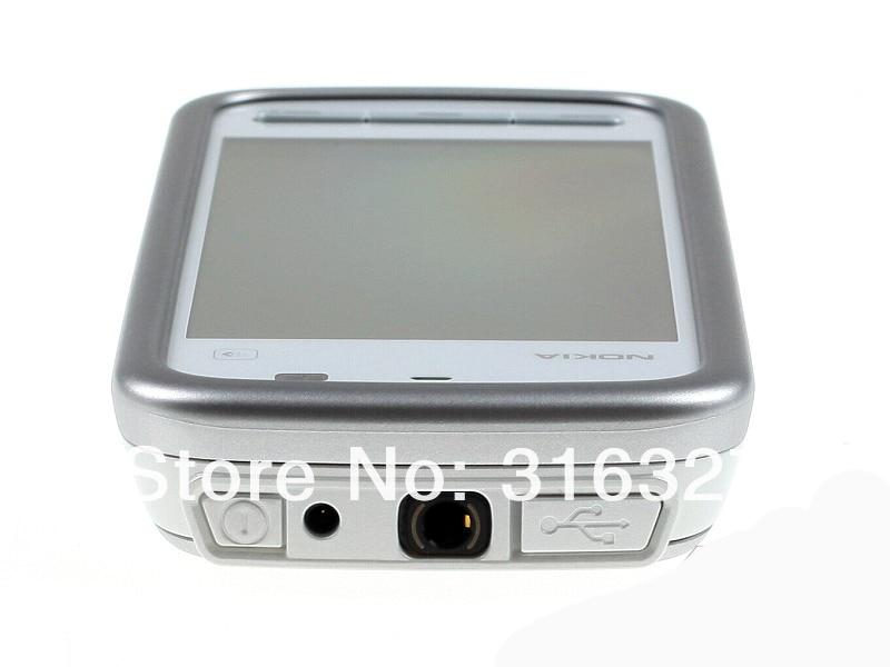 "Refurbished smartphone Nokia 5230 GPS 3G 3.2"" Bluetooth JAVA 2MP Unlocked Mobile Phone white 6"