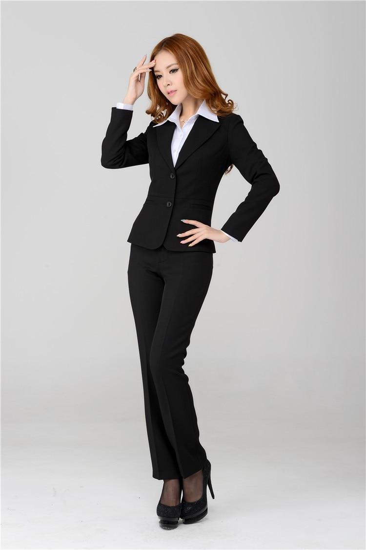 black suits for women go suits