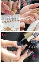 бесплатная доставка - ич ногтей для 3D ногтей мини-автобус комплект 12 цвет маленький кружок бассейна украшения