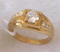 мужская кольцо.18 к GP кольцо роза. бесплатная доставка. polite отслеживая