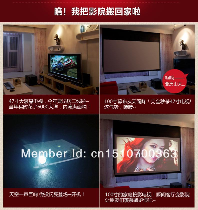 лучшее качество! 1080 p полный HD из светодиодов андроид жк-проектор 3д беспроводной смарт proyector с светодиодная лампа над пригодности 50000hs жизнь бесплатная доставка