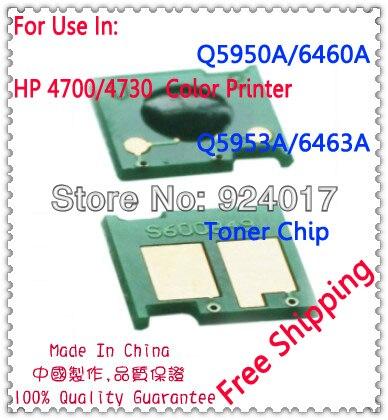 US $14 0 |Aliexpress com : Buy For Impressora HP Q5950A Q5951A Q5952A  Q5953A Toner Chip Reset Chip For HP 4730 4700 Color Laser Printer,For HP  Toner
