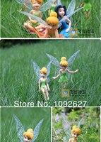 бесплатная доставка высокая пвх качество тинкербелл фея Cartel thinker Bell цифры игрушки куклы