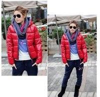 оптовая продажа дешевые зима осень новый стиль одного элемента сверкающих мода теплый пуховик пальто пара