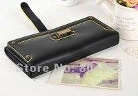 бесплатная доставка мода женская бумажник искусственная кожа кошелек для монет 4 цветов смешанный оптовая продажа