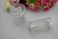 свадебный сияющий кристалл свадьба волос булавка серебро позолоченное шпилька 7 * 0, 8 * 0, 8 см смешанный элементы 200 шт/много