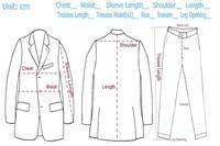 с учетом сделал костюм 2015 грудь ткани супер 120 С 3 шт. костюм Dean Роско code007 бесплатная доставка костюмы