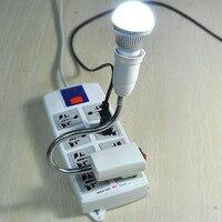 быстрая доставка, высокая Сиро напряжение тока деятельности ac110v/220 в АС разъем для Лампа E27 светодиодные лампы лампы основного розетку, 30 см, розничная торговля, дропшиппинг