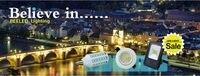 10 шт./лот светодиодные свечи Лампа E14 3 вт 9 SMD 2835 водить epistar 220 в-240 в пятно Сид 400lm теплый белый/холодный белый CE и RoHS бесплатная доставка/китай сообщение