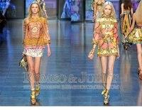 новинка красочные широкий шелковое платье / женские платья / мини платье /, № 413092 магазин
