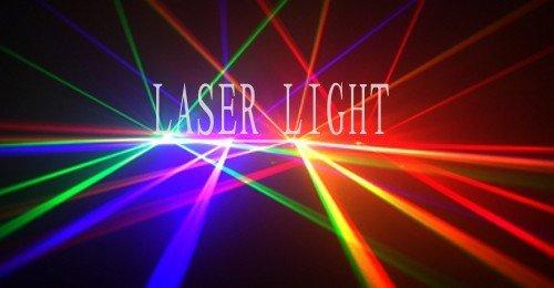 stage lighting 4 color RGVY DMX sound DJ lighting disco bar laser light