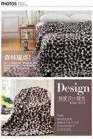 текстиль вентилятор флисовое одеяло ватки одеяло утолщение bedrug двойной один