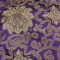 бесплатная доставка шинуазри свадьба конфеты подарок атласные шнурок вышивка цветок - фиолетовый