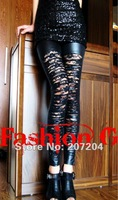 горячая сексуальное мода черное кружево сетка тонкий колготки женщин-гетры повелительниц женская чулки Клубная одежда горячая