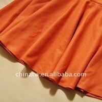 zb11018 Korea стиль пустой цвет грудь дамы cart юбка дизайн