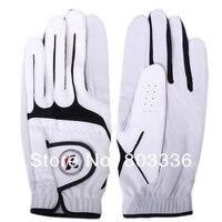 бесплатная доставка ки синтетическая кожа гольф перчатки - размер 27