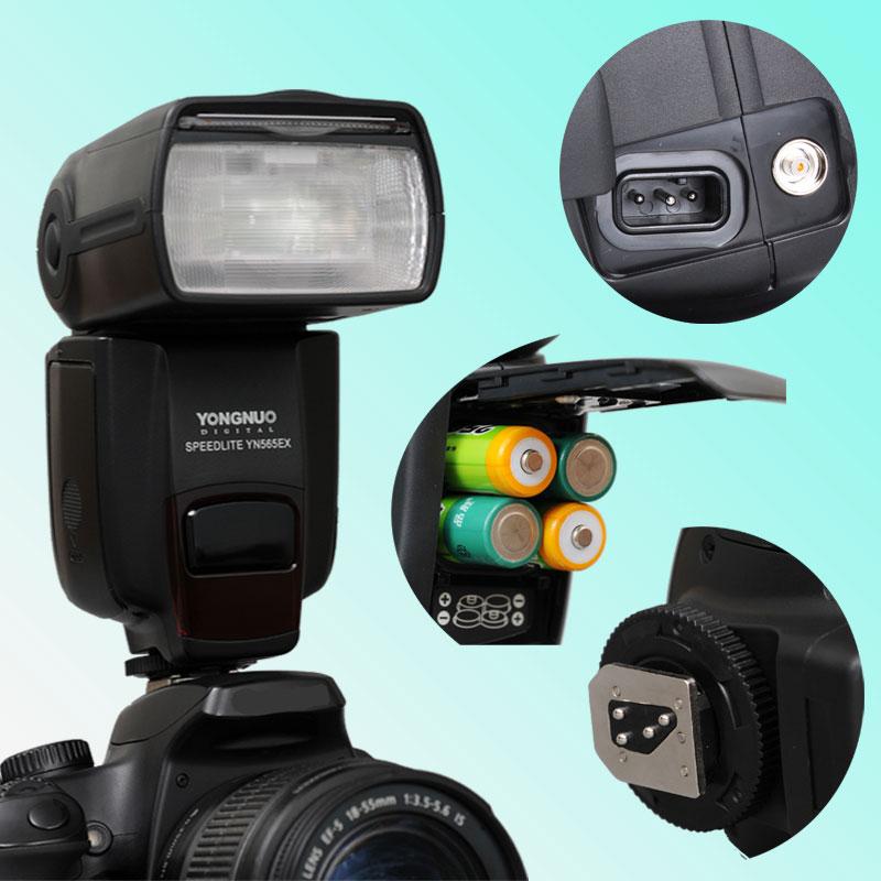 SB-700 Nikon Camera with C-commander and ST-E2 Any DSLR camera with standard hot shoe Nikon SB-900 Yongnuo YN-565EX Electronic Speedlight Speedlite Flash Light for Nikon D7000 D5100 D5000 D3100 D3000 D700 D300 D300s D200 D90 D80 D60 D40x D40 T SB-800