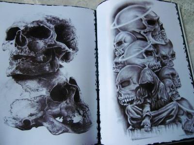 Skull Tattoo Book