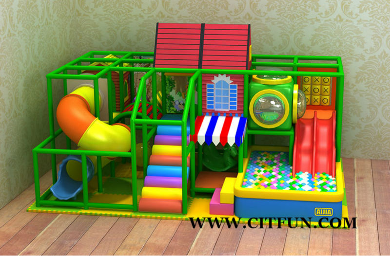 HOUSE THEME KIDS INDOOR SOFT PLAY SYSTEM FOR CAFE AND SHOPPING MALL ...