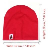 b142 гибкий размер милый ребенок шапочка для девочки и мальчик дети шляпа детские шапки в хлопка шапочки для новорожденных детей шапки прямая поставка