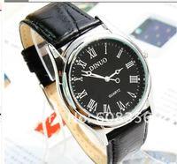 роскошные новых спортивных кожи кварцевые часы водонепроницаемый высокое качество япония движение кварцевые наручные часы бесплатная доставка