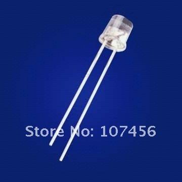 da lâmpada pré-wired 5mm 12v dc com