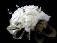новый! вечерние свадебные цветы букет невесты розы кристалл обвинение veto шар флорист оптовая продажа бесплатная доставка