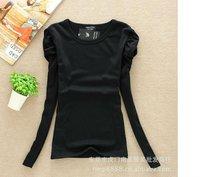 бесплатная доставка, новое поступление, горячая распродажа женская мода хлопок майка одежда верхняя женская футболка / дна рубашка