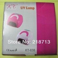 36 Вт 220 в гель 220-240В-грани гвоздь ультрафиолетовый лампа Pol sur с 4 шт 9 Вт лампа ультрафиолетового ЛГ в стиле kt838, ес вилла